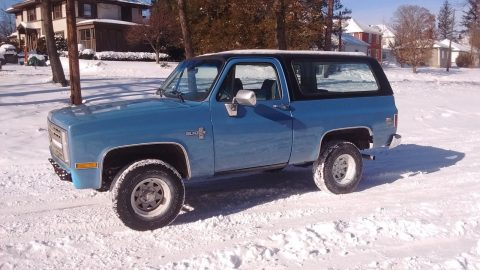 many new parts 1987 Chevrolet Blazer K5 Silverado offroad for sale