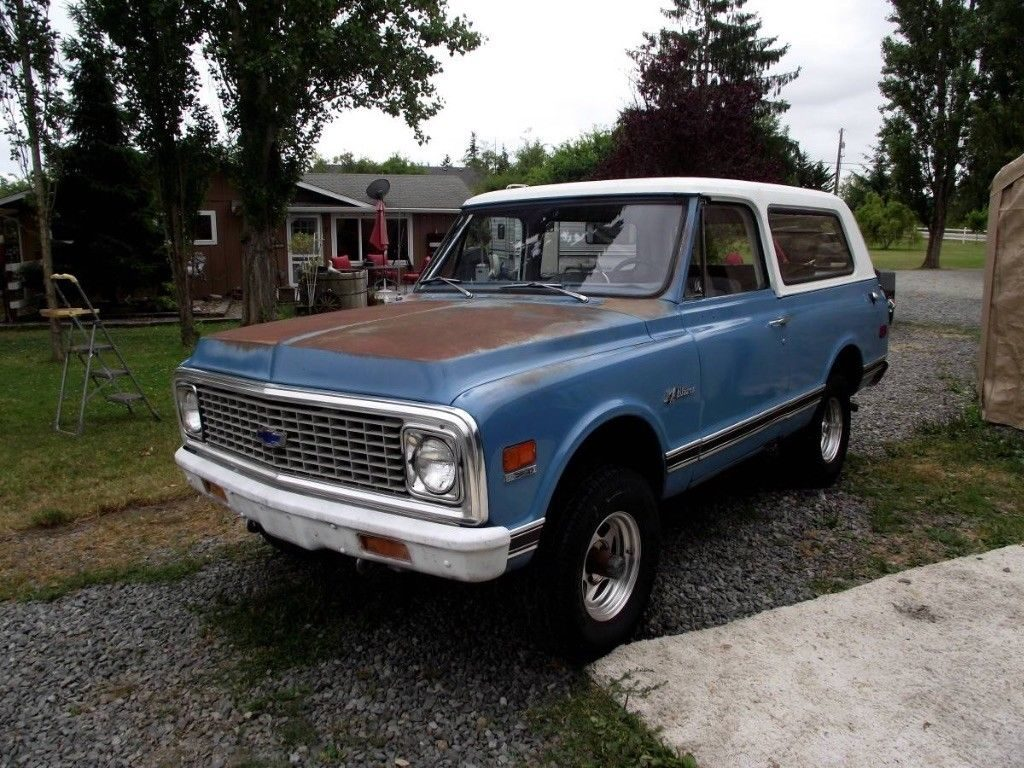original condition 1971 Chevrolet Blazer offroad