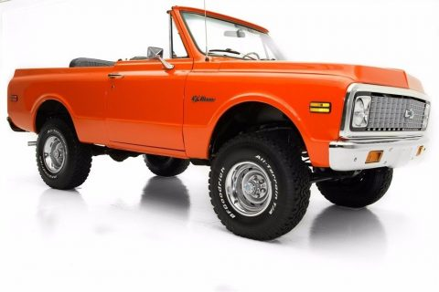 professional paint 1972 Chevrolet Blazer Black Top offroad for sale