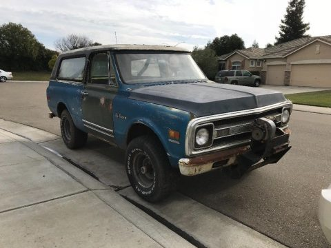 rare barn find 1969 Chevrolet Blazer K5 offroad for sale