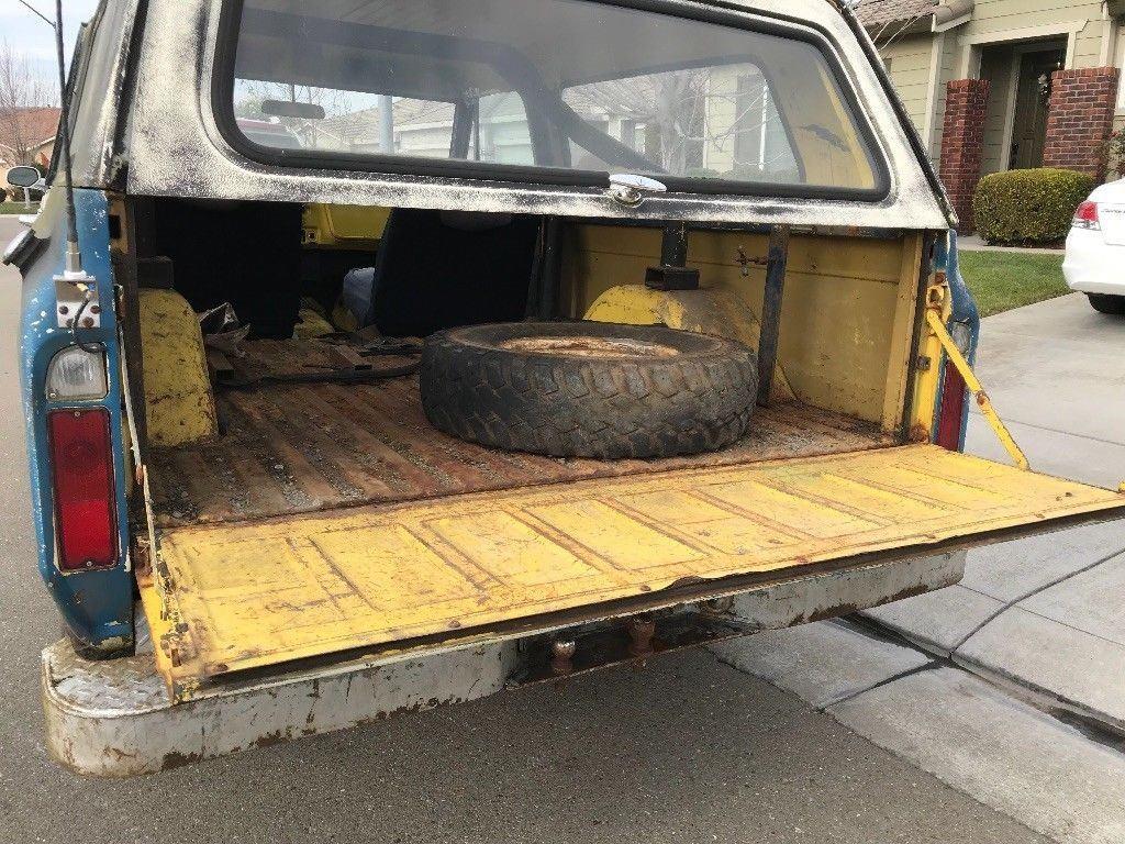 rare barn find 1969 Chevrolet Blazer K5 offroad