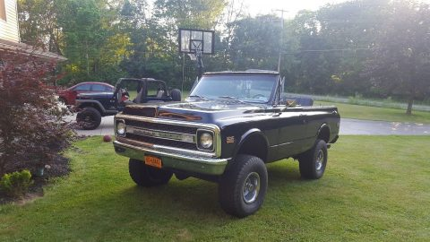 rebuilt transmission 1970 Chevrolet Blazer CST offroad for sale