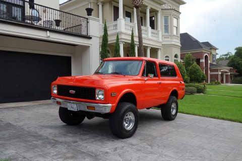restored 1972 Chevrolet Blazer offroad for sale