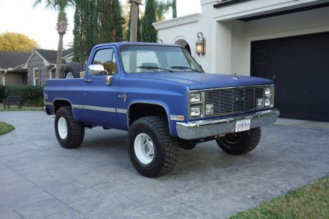 restored 1985 Chevrolet Blazer K5 offroad for sale