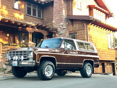 super low miles 1977 Chevrolet Blazer Cheyenne rare offroad for sale
