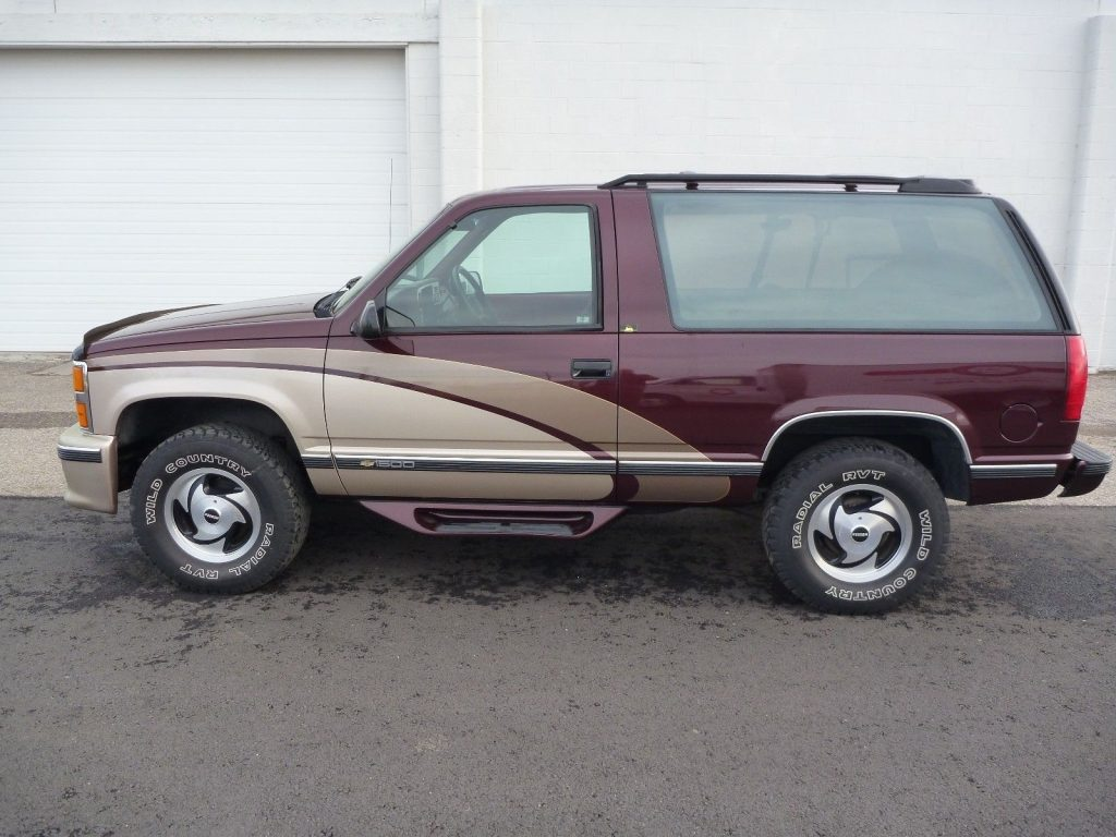 superb 1993 Chevrolet Blazer K 1500 offroad