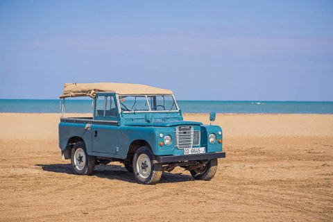 new paint 1980 Land Rover Defender Santana 88 (series III) offroad for sale