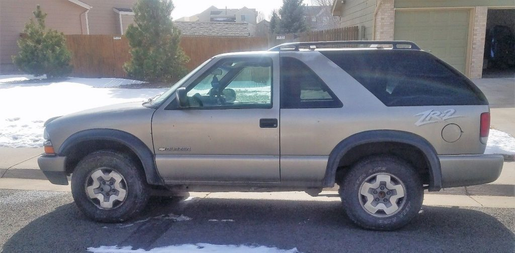 new tires 2004 Chevrolet Blazer offroad