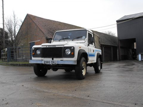 original 1980 Land Rover Defender truckcab offroad for sale