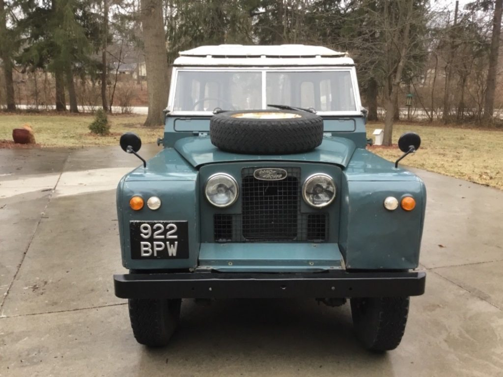 solid 1963 Land Rover Safari Station Wagon offroad