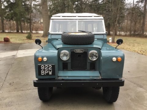solid 1963 Land Rover Safari Station Wagon offroad for sale