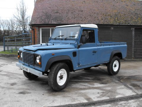 unmolested 1980 Land Rover Defender offroad for sale