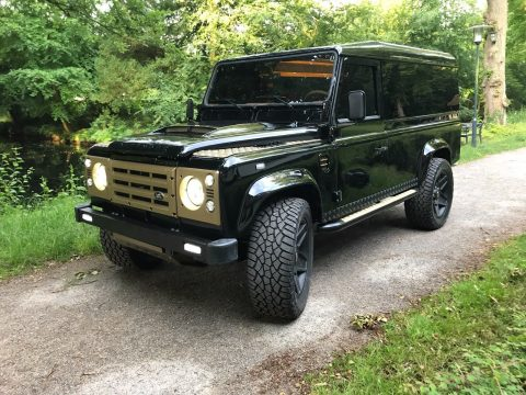 completely restored 1991 Land Rover Defender offroad for sale