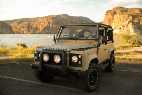 custom 1990 Land Rover Defender offroad for sale