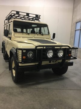 frame off restored 1984 Land Rover Defender 110 offroad for sale