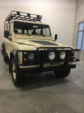 frame off restored 1984 Land Rover Defender 110 offroad for sale