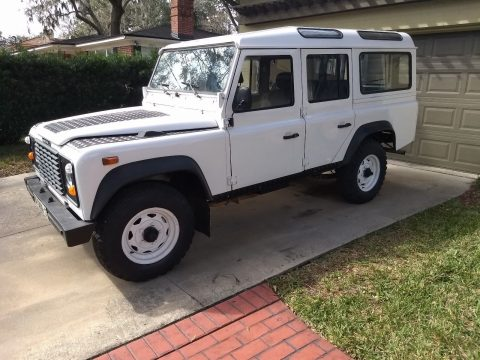 fresh paint 1988 Land Rover Defender offroad for sale