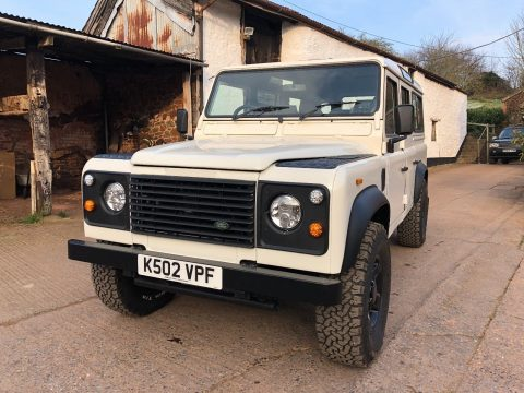 fully rebuilt 1991 Land Rover Defender offroad for sale