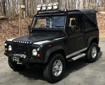 fully serviced 1991 Land Rover Defender offroad for sale