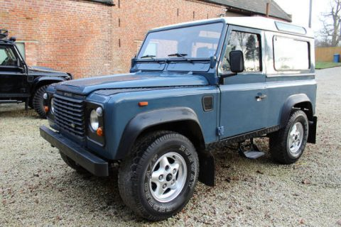 left hand drive 1980 Land Rover Defender County Station Wagon offroad for sale