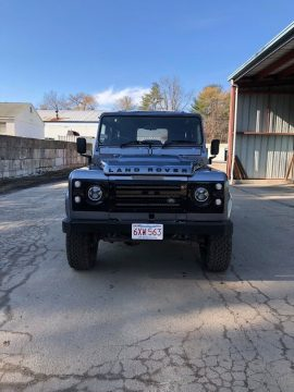 new custom interior 1988 Land Rover Defender offroad for sale