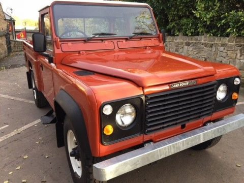 new paint 1985 Land Rover Defender 110 offroad for sale