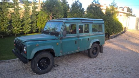 nice patina 1984 Land Rover Defender offroad for sale