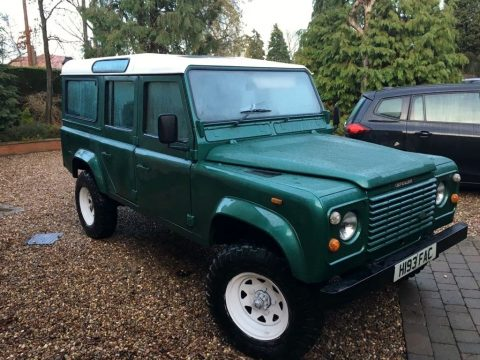 permanent AWD 1990 Land Rover Defender 110 offroad for sale