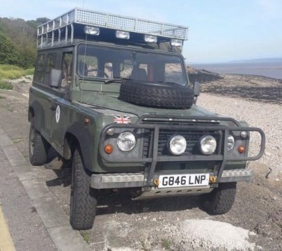 rare 1990 Land Rover Defender offroad for sale