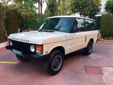 rare 2 door 1989 Range Rover Classic offroad for sale