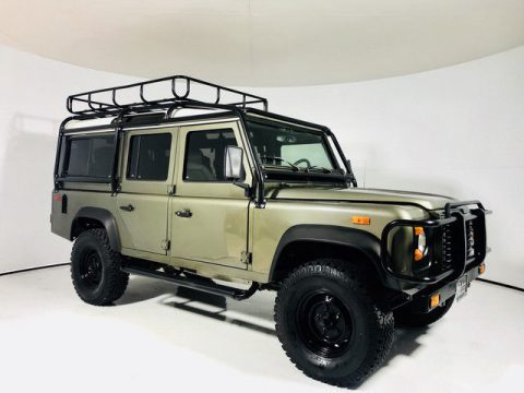 recently overhauled 1993 Land Rover Defender offroad for sale