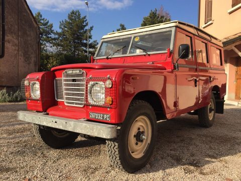 restored 1981 Land Rover Defender offroad for sale