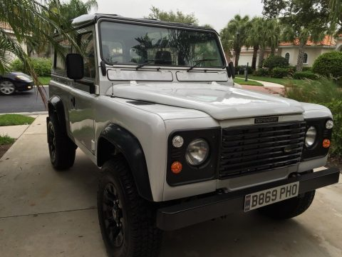 restored 1984 Land Rover Defender offroad for sale