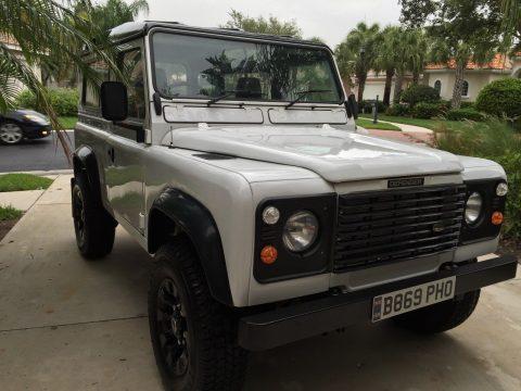 restored 1984 Land Rover Defender offroad for sale