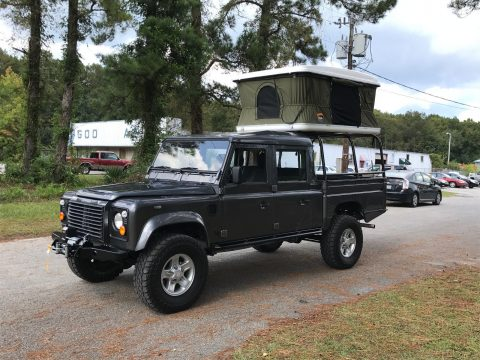 restored 1985 Land Rover Defender offroad for sale