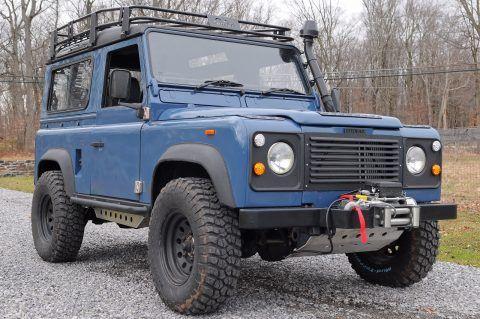 restored 1992 Land Rover Defender D90 offroad for sale