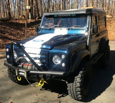 well preserved 1992 Land Rover Defender offroad for sale