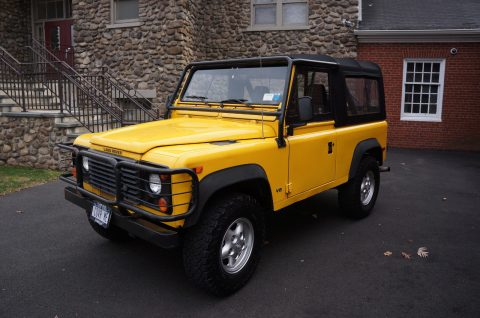 Excellent condition 1997 Land Rover Defender 90 Convertible offroad for sale