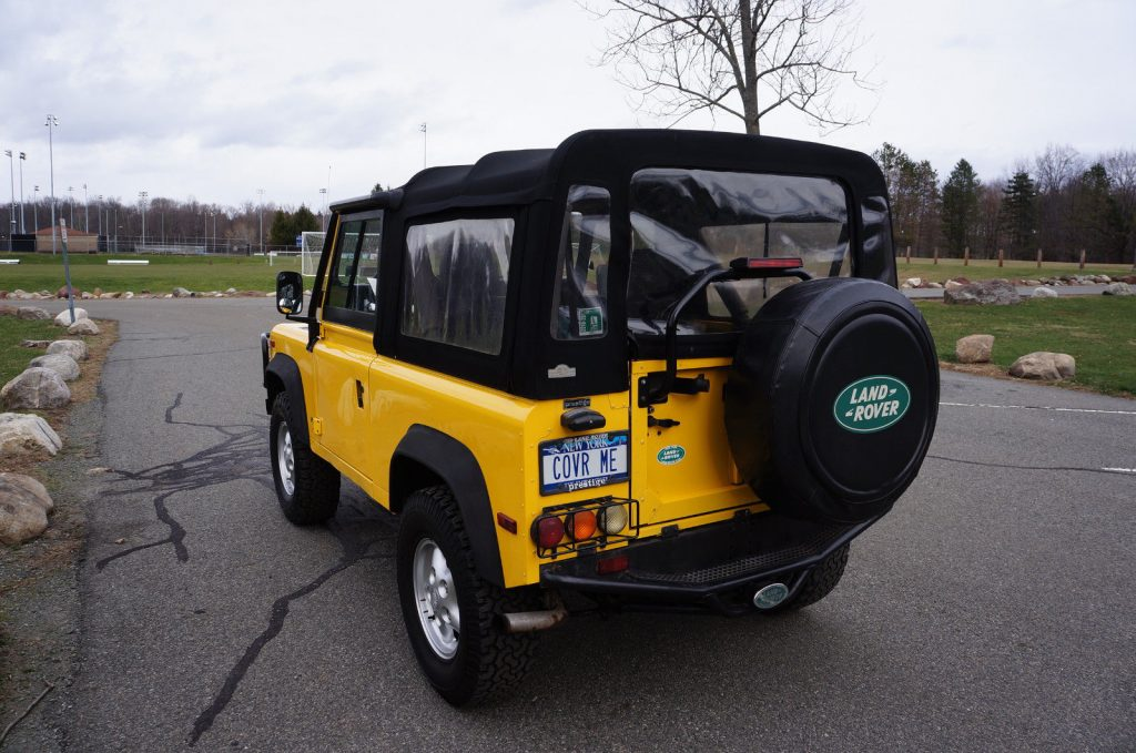 Excellent condition 1997 Land Rover Defender 90 Convertible offroad