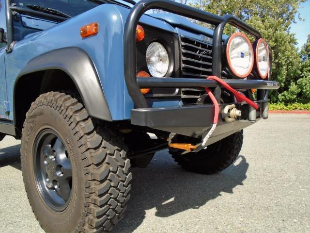 garaged 1997 Land Rover Defender 90 offroad
