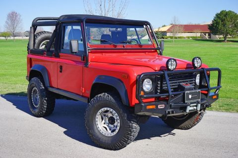 modified 1997 Land Rover Defender offroad for sale