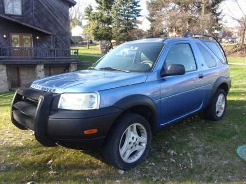 runs and drives 2003 Land Rover Freelander SE3 offroad for sale