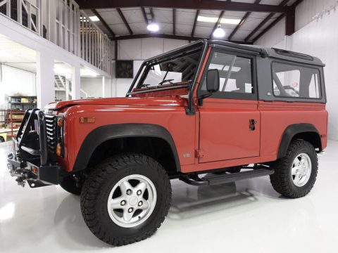 very low mileage 1995 Land Rover Defender 90 offroad for sale