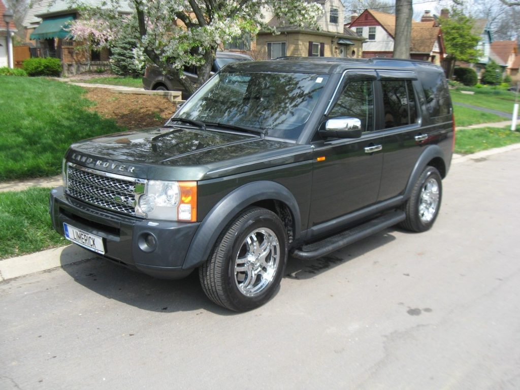 always serviced 2005 Land Rover LR3 offroad