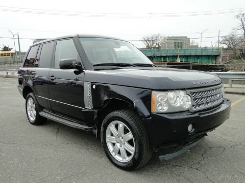 damaged 2007 Land Rover Range Rover HSE offroad for sale