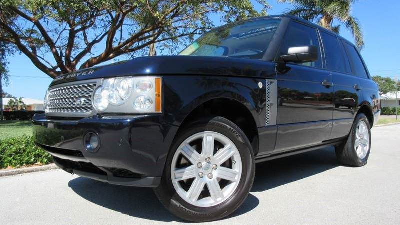 fully loaded 2006 Range Rover HSE offroad