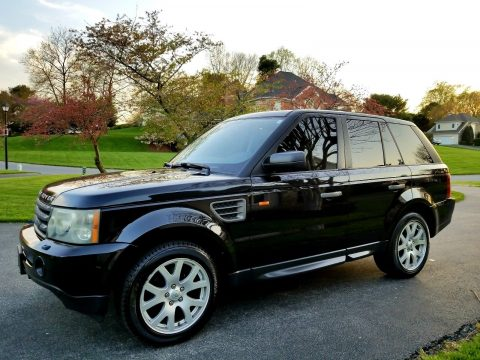 loaded 2007 Land Rover Range Rover Sport HSE offroad for sale