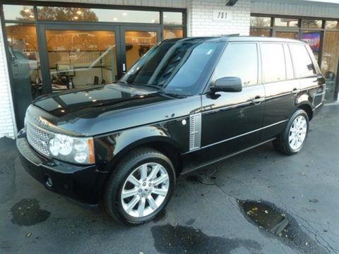 loaded 2007 Land Rover Range Rover Supercharged offroad for sale