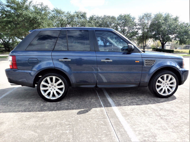 loaded with options 2006 Range Rover Sport offroad