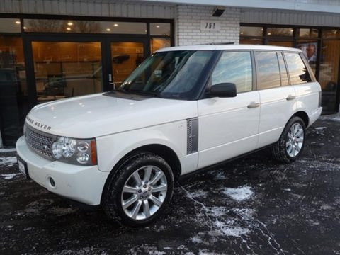 low mileage 2008 Range Rover Supercharged offroad for sale